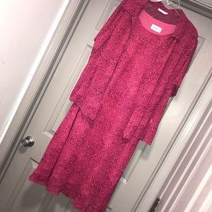 Gorgeous 2 Piece Set. Sheer Jacket over dress
